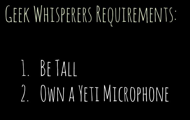 Geek Whisperer Essentials