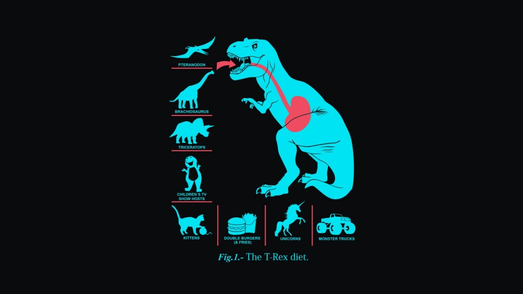 """some marketing managers are like little t-rex with no arms."""