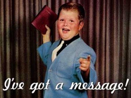 Hey-hey-evangelism