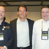 The VMguru team with former VMware CTO Steve Herrod at VMworld 2010
