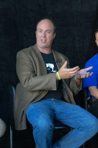Stu Miniman on a panel at VMworld 2014