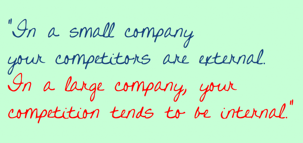 small-company-big-company-competition