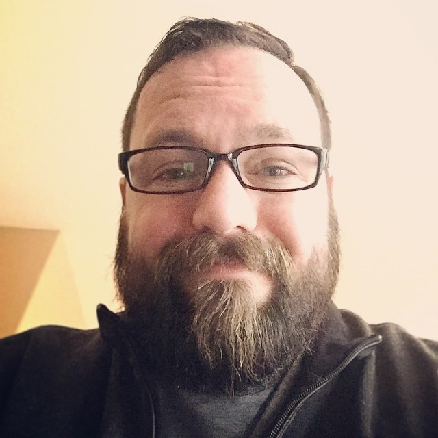 Nick Weaver has a full stack beard